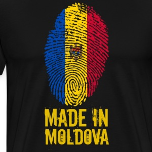 Made in Moldova / Made in Moldova - Premium T-skjorte for menn