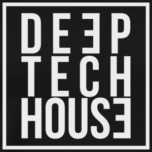 Deep Tech House by HouseMixRoom RadioShow - Men's Premium T-Shirt