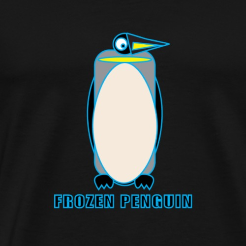penguin-print-big - Mannen Premium T-shirt
