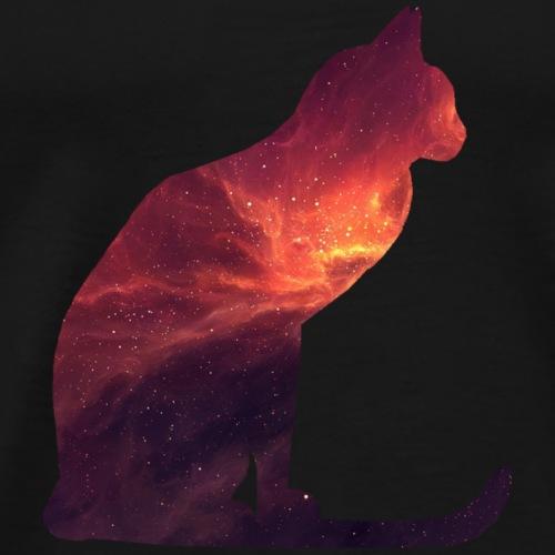 Red galaxy - Men's Premium T-Shirt