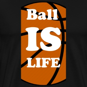 Ball is Life Basketball Limited - Männer Premium T-Shirt
