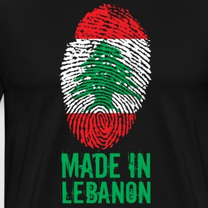 Made in Lebanon / Made in Libano اللبنانية - Maglietta Premium da uomo