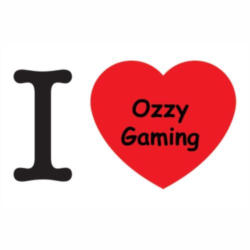 i love Ozzy Gaming - Männer Premium T-Shirt