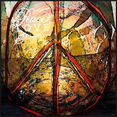 Peace Love and Joy - Männer Premium T-Shirt
