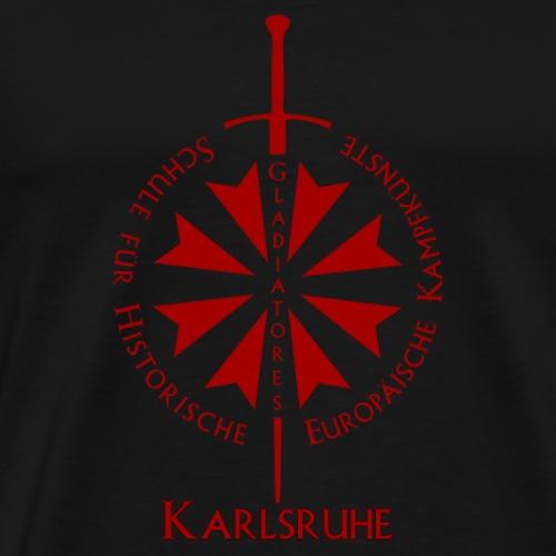 T shirt front KA - Männer Premium T-Shirt
