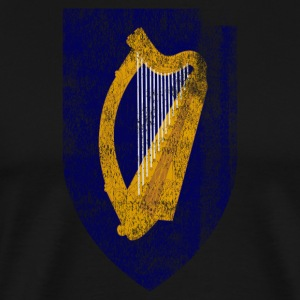 Irish Coat of Arms Ireland Symbol - Men's Premium T-Shirt