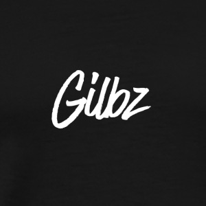 Gilbz Original Black T-Shirt - Men's Premium T-Shirt
