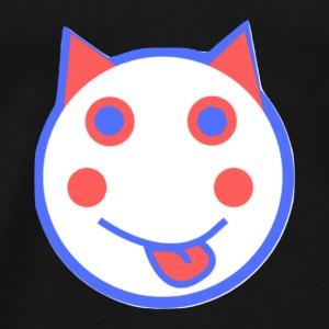 Alf Red White And Blue Cat | Alf Da Cat - Men's Premium T-Shirt