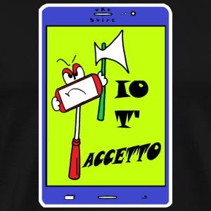 SELF..IE ITALIAN STYLE MAN - uKa - Men's Premium T-Shirt
