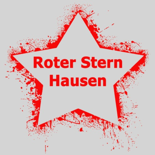 Roter Stern Hausen - Männer Premium T-Shirt