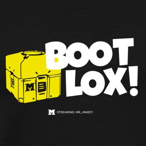 BootLox! (Dark) - Männer Premium T-Shirt