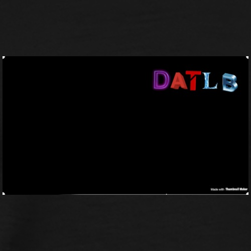 DaTLB Text Logo - Men's Premium T-Shirt