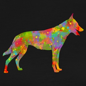 Belgian Shepherd Malinois Multicolored - Men's Premium T-Shirt