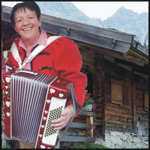 Die Odenwald Tirolerin Erna Stocker - Männer Premium T-Shirt