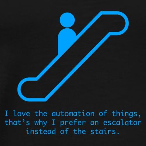 Escalator - Men's Premium T-Shirt