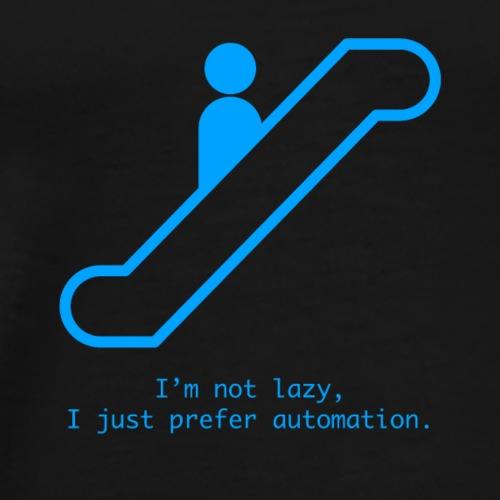 I'm not lazy - Men's Premium T-Shirt