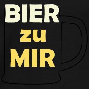 Bier zu mir - Männer Premium T-Shirt