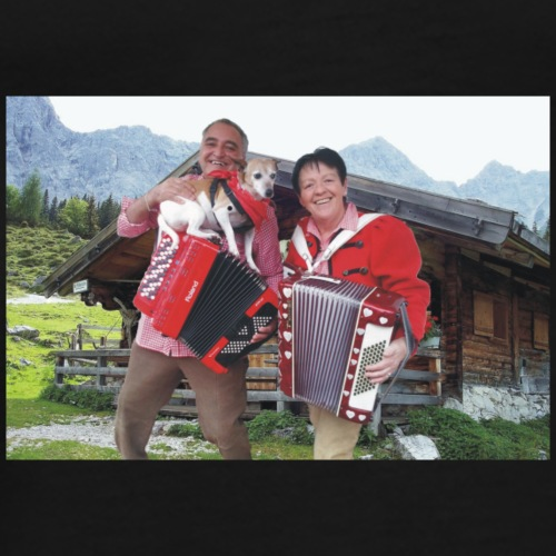 Erna&Gert mit Laska - Männer Premium T-Shirt