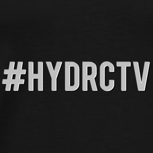 Hashtag hydractive - Männer Premium T-Shirt