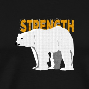 Polar Bear - Spirit Animal - Mannen Premium T-shirt