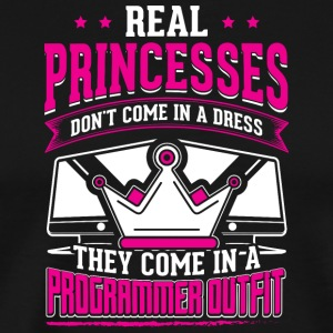 REAL PRINCESSES programmer - Men's Premium T-Shirt