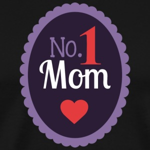 No 1 MOM - Men's Premium T-Shirt