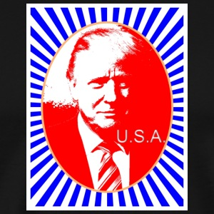 trump_usa - Premium T-skjorte for menn