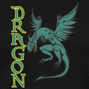 Dragon dragon coloré - T-shirt Premium Homme