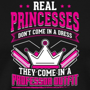 REAL PRINCESSES professor - Männer Premium T-Shirt