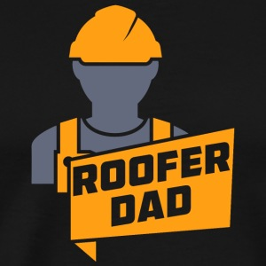 Roofer Dad - Men's Premium T-Shirt