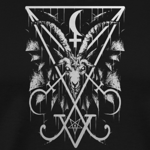 Sigil of Lucifer - Herre premium T-shirt