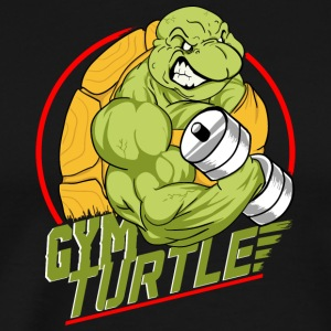 Gym Turtle Gym Design - Männer Premium T-Shirt