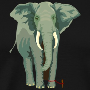 Big Elephant - Herre premium T-shirt