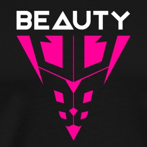 Beauty White / Pink - Men's Premium T-Shirt