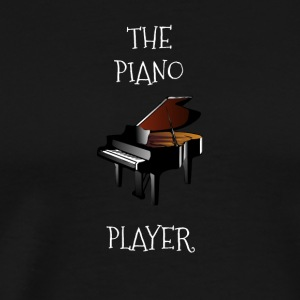 The piano player - Men's Premium T-Shirt