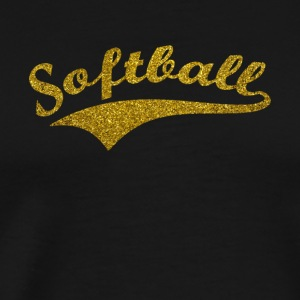 softball v3 - Männer Premium T-Shirt
