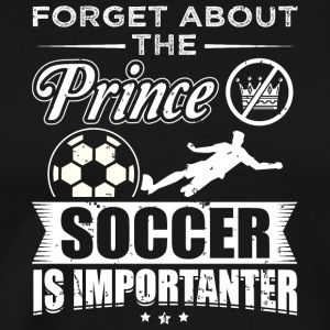 football FORGET PRINCE - T-shirt Premium Homme