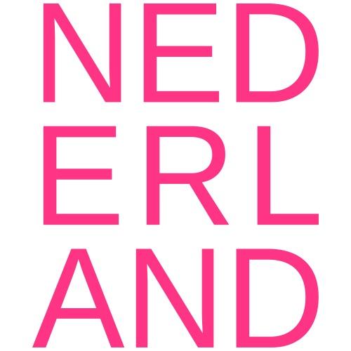 Nederland in de kleur van gay pride roze - Mannen Premium T-shirt