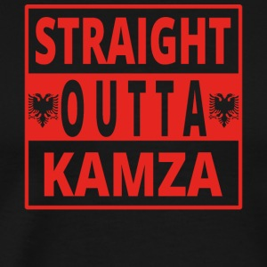 Straight outta Kamza Albania - Men's Premium T-Shirt