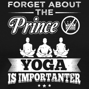 Yoga FORGET PRINCE - Men's Premium T-Shirt