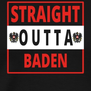 Straight outta bathing - Men's Premium T-Shirt