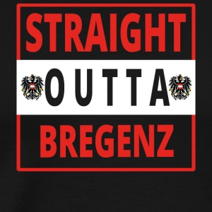 Straight outta Bregenz - Men's Premium T-Shirt