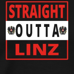 Straight outta Linz - Men's Premium T-Shirt