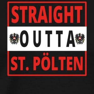 Straight outta STPoelten - Men's Premium T-Shirt