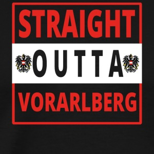 Straight outta Vorarlberg - Men's Premium T-Shirt
