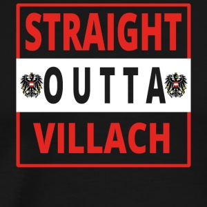 Straight outta Villach - Men's Premium T-Shirt