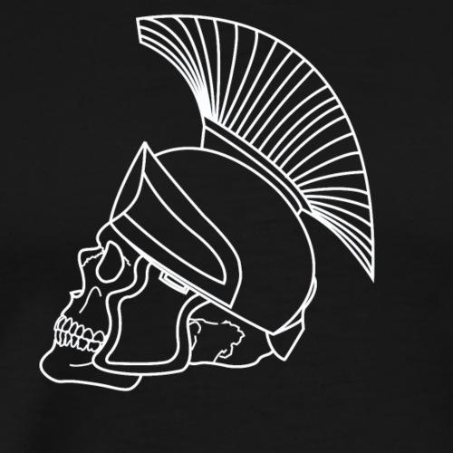 Romancity Skull White - Men's Premium T-Shirt