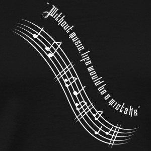 Live with Music - Men's Premium T-Shirt