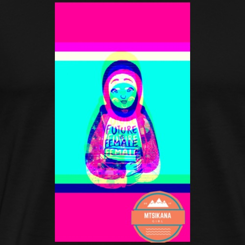 future is female (mtsikana) - Men's Premium T-Shirt