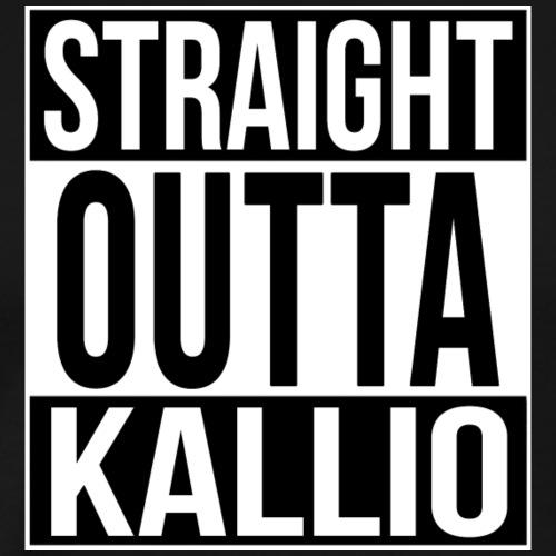 STRAIGHT OUTTA KALLIO - Miesten premium t-paita